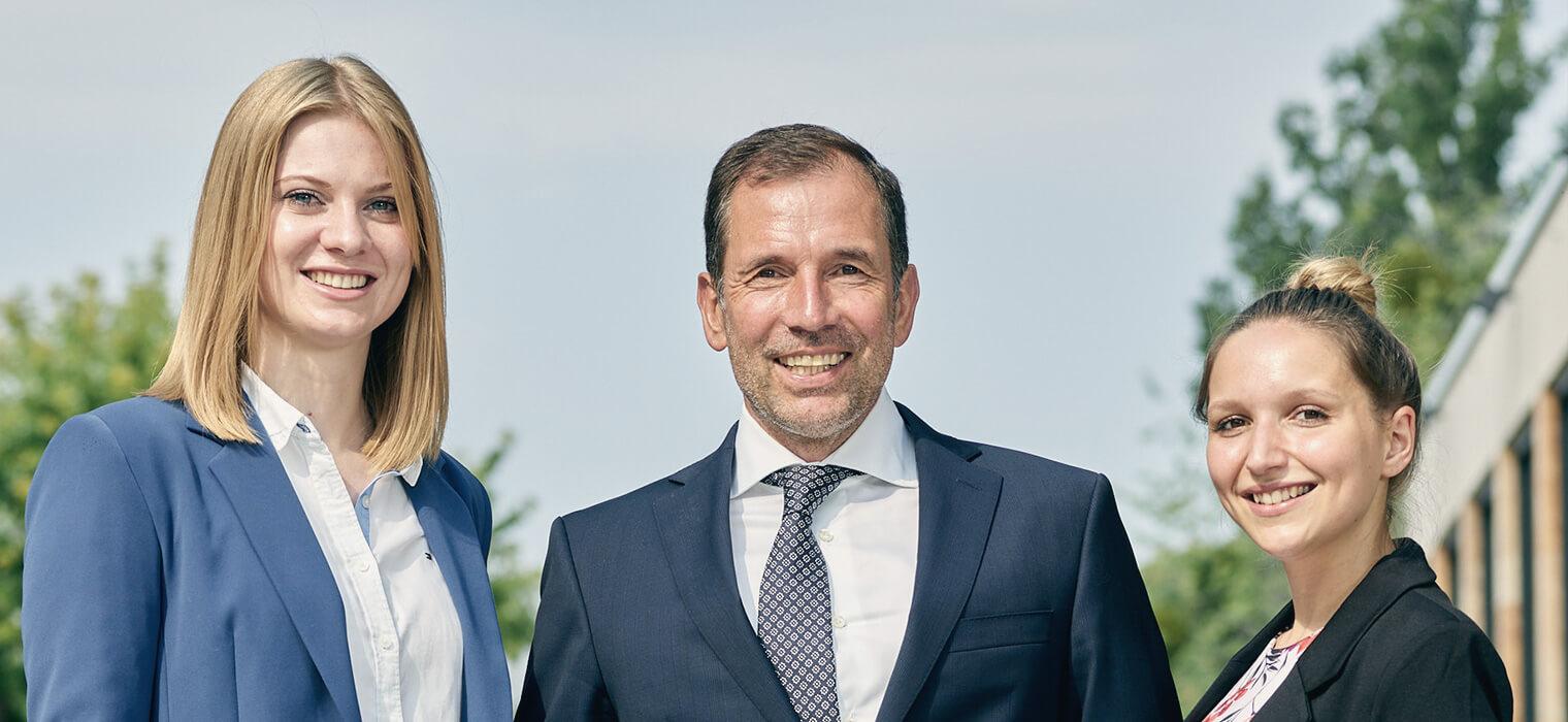 Team der Kanzlei Hendrik Schneider